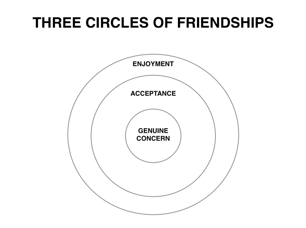 Three Circles of Friendship